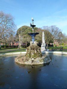 Victoria Park Fountain Image courtesy of Arkwood Ltd