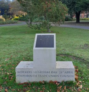 The Workers Day Memorial Victoria Park Portsmouth